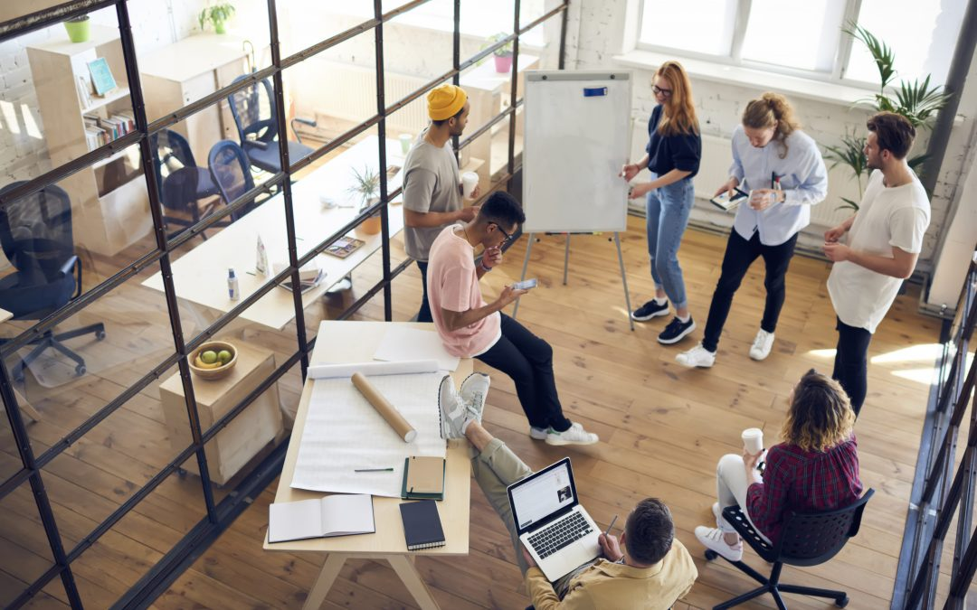 How to build a creative work environment.
